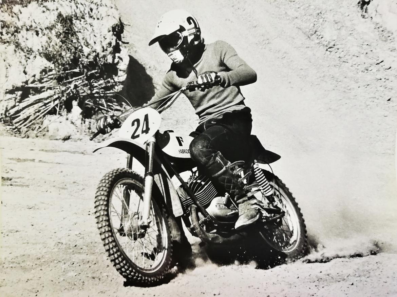Giuseppe Zecchi, Fabrizio Guidotti, speedy mousse, moto 70', motocross history