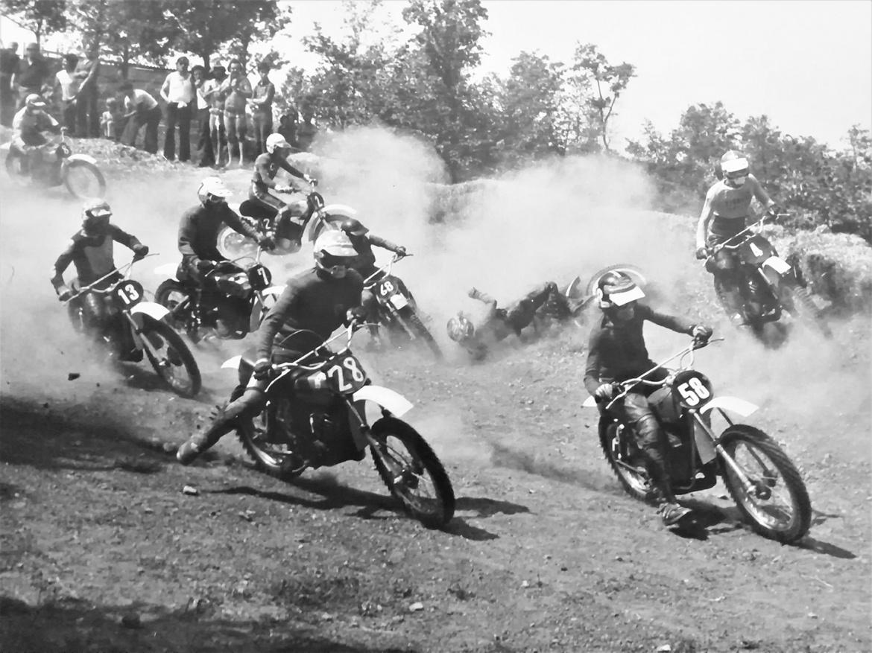Giuseppe Zecchi, Fabrizio Guidotti, speedy mousse, moto 70', motocross history, Luigi Mazzoni